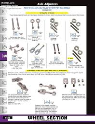 Discount Mid Usa Axles Adjusters And Spacers For Harley