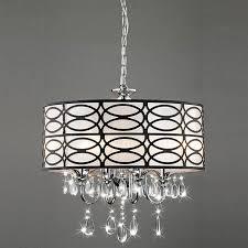 full size of modern crystal chandelier withum shade shades clip on cassiel dark chrome large lighting