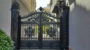 Online Shop Home Aluminium Gate Design Steel Sliding Gate Adorable Home Gate Design