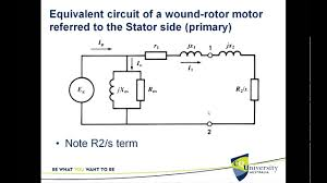 equivalent circuit of the three phase induction motor you rh you 3 phase motor circuit diagram 3 phase motor starter diagram