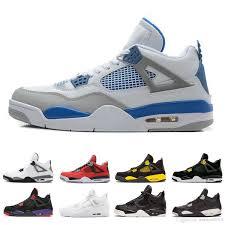 Nike Air Jordan 4 4s Freeshipping 4 4s роялти мужчины баскетбольная обувь кроссовки один день