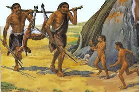 Resultado de imagem para homem pré histórico