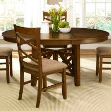Round Dining Table For 6 With Leaf 42 Inch Round Dining Table With Leaf Starrkingschool