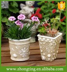 Factory direct Decorative mini Flower Pot wholesale ceramic different types  flower pots