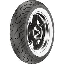 Details About 170 80 15 Dunlop K555 Wide White Wall Rear Tire