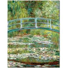 modern impression claude monet water lily pond landscape oil paintings reion unframed prints canvas oil painting