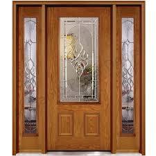 nice main door glass design classic wood door design with glass hpd481 glass panel doors