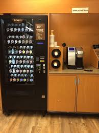 Kcup Vending Machine New KCup Vending Machine Cups Are 48 And You Can Brew For Free Yelp