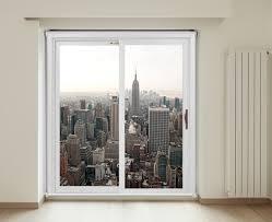 patio door roller blinds. Simple Blinds RB258  Glass Door View Of New York City Skyline Patio Roller Blind Intended Patio Door Roller Blinds O