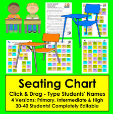 Seating Chart By The Teachers Post