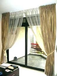 sliding glass door curtains sheer for patio doors unique ideas contemporary curtain decorating window treat