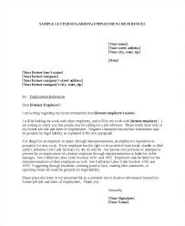 Letter Of References Examples Employee References Template Allthingsproperty Info