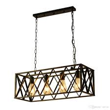 oovov rectangle restaurant black iron pendant light simple dining room cafe bar kitchen loft pendant lamps low voltage pendant lights pull down pendant
