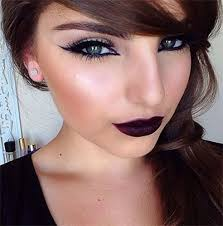 15 winter themed dark lips makeup ideas styles