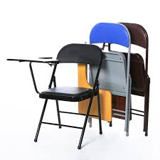 folding office chair. High Quality Folding Office Chair Portable Meeting Conference With Writing Board Stable Household Computer