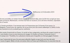Writing An Informal Letter (Personal Writing) - French Vce Text ...