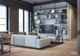 modern house interior. Metal Shelving Unit Integrating Comfort With Industrial Style A Home Tour Modern House Interior