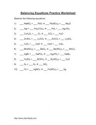 surprising balance equation chemistry practice jennarocca balancing chemical equations worksheet p balancing chemical equations worksheet worksheet