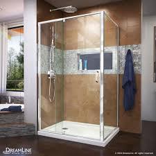 framed pivot shower enclosure