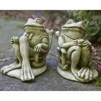 garden frog statue. Garden Frog Statue
