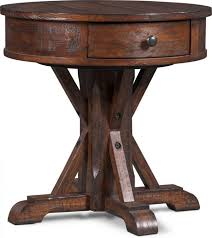 round coffee and end tables table storage small accent wood side 936