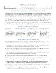 ... Kendall Construction Supervisor Resume 2015. KENDALL L. WALLIS 1701 E.  Hebron Parkway #10105 http://linkedin ...