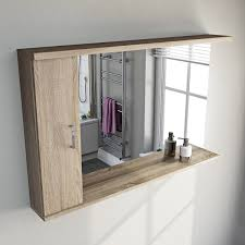 bathroom mirror with lights. free delivery sienna oak 120 mirror with lights bathroom h
