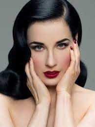 clic pin up makeup worn so well by miss dita does this inspire you