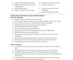 Sample Resume For A Call Center Agent Resume Templates Downloads Call Center Download Template 1