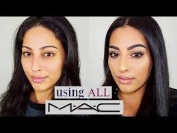 all m a c cosmetics makeup tutorial one brand tutorial