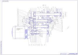 Курсовые и дипломные работы станки токарные металлорежущие  Курсовая работа Коробка скоростей консольно фрезерного станка 6Н82