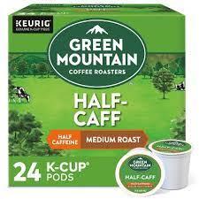 Usually, this mixture is a 50:50 ration between both varieties of coffee beans. Green Mountain Coffee Half Caff Keurig K Cup Coffee Pods Medium Roast 24ct Target
