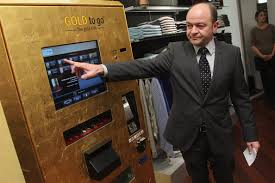Gold To Go Vending Machine New Thomas Geissler Photos Photos Berlin's First 'Gold To Go' Vending