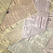 Old Newspaper Presentation Backgrounds For Powerpoint Templates