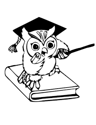 Small Picture Cartoon Owl Coloring Pages Draw 2690