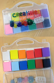 the colorful eraser making kit