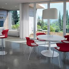 cove metal stackable chairs made of metal and polypropylene