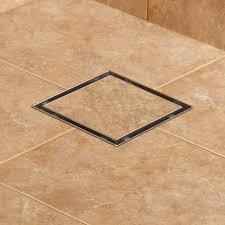cohen square shower drain 4 length