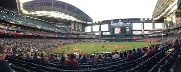 Chase Field Az Seating Chart Arizona Diamondbacks Chase Field Seating Chart Perspicuous