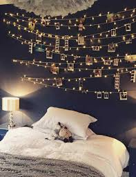 tumblr bedrooms white. White O Friends Benefits Hanging Christmas Tumblr Bedrooms With Fairy Lights Bed