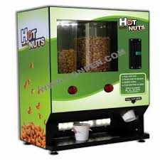 Vending Machine Dispenser Delectable Hot Nuts Vending Machine Fresh Peanutscashewsalmondsdispenser
