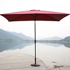 chopetree 6u00276u0026quotx10u0027 rectangular patio umbrella outdoor market umbrella rectangle patio umbrellas u64 patio