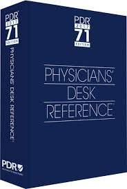 the physicians desk reference or pdr the physicians