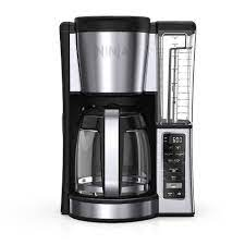 Ninja ce251 coffee maker, programmable, 1.88 quart, 12 cup (s), coffee strength setting, black, stainless steel, plastic, glass ninja ce251 coffee maker sip a cup of freshly brewed, frothy and aromatic coffee accommodates up to 1.88 quart/12 cup (s) of water and proves sufficient for a group of people at any gathering Ninja 12 Cup Programmable Brewer Target