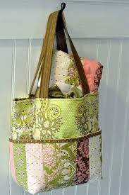 Free Tote Bag Patterns Custom Hushabye Tote Bag Free Sewing Pattern Love To Sew