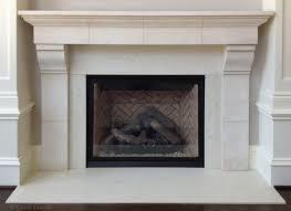 French Limestone Fireplace Mantel - Traditional - Philadelphia ...