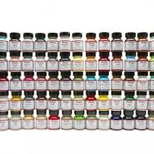Details About Angelus Brand Acrylic Leather Vinyl Paint Color Chart Collectors Edition