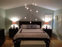 image of bedroom ceiling light fixtures track
