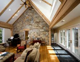 room vaulted ceiling fireplace mountainpinelivingroomcorne
