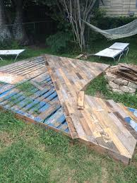 wood pallet lawn furniture. Awesome Patio Deck Out Of Pallets..for Front Porch Stoop More Wood Pallet Lawn Furniture E